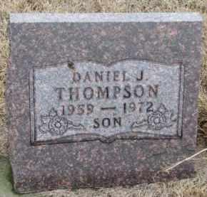 THOMPSON, DANIEL J. - Knox County, Nebraska | DANIEL J. THOMPSON - Nebraska Gravestone Photos