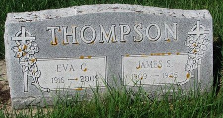THOMPSON, EVA C. - Knox County, Nebraska | EVA C. THOMPSON - Nebraska Gravestone Photos