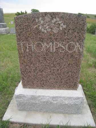 THOMPSON, FAMILY STONE - Knox County, Nebraska   FAMILY STONE THOMPSON - Nebraska Gravestone Photos