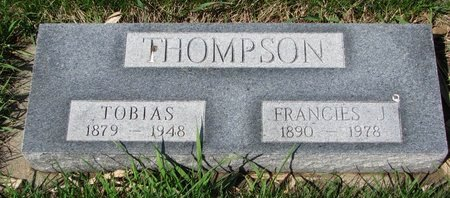 THOMPSON, TOBIAS - Knox County, Nebraska | TOBIAS THOMPSON - Nebraska Gravestone Photos