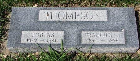 HOWARD THOMPSON, FRANCIES J. - Knox County, Nebraska | FRANCIES J. HOWARD THOMPSON - Nebraska Gravestone Photos