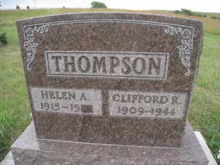 THOMPSON, HELEN A. - Knox County, Nebraska | HELEN A. THOMPSON - Nebraska Gravestone Photos