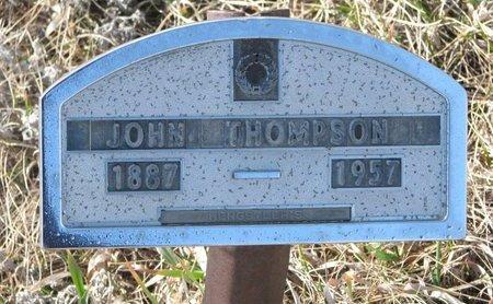 THOMPSON, JOHN - Knox County, Nebraska | JOHN THOMPSON - Nebraska Gravestone Photos