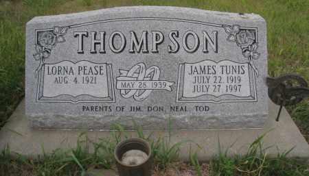 THOMPSON, LORNA PEASE - Knox County, Nebraska   LORNA PEASE THOMPSON - Nebraska Gravestone Photos