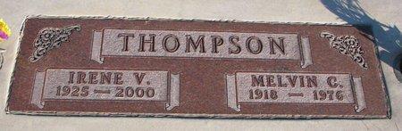 THOMPSON, MELVIN C. - Knox County, Nebraska | MELVIN C. THOMPSON - Nebraska Gravestone Photos