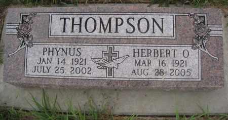THOMPSON, PHYNUS - Knox County, Nebraska | PHYNUS THOMPSON - Nebraska Gravestone Photos