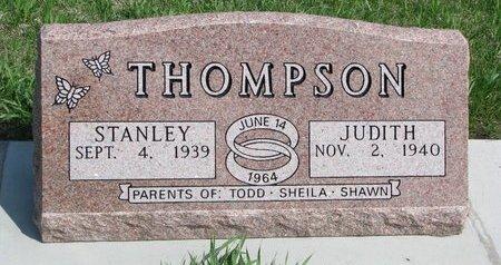 THOMPSON, JUDITH - Knox County, Nebraska | JUDITH THOMPSON - Nebraska Gravestone Photos