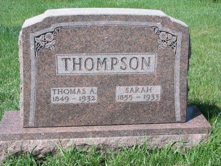 THOMPSON, SARAH - Knox County, Nebraska | SARAH THOMPSON - Nebraska Gravestone Photos