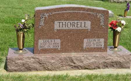 THORELL, ELON H. - Knox County, Nebraska   ELON H. THORELL - Nebraska Gravestone Photos
