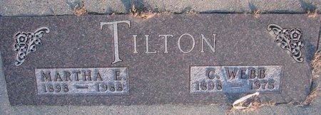 TILTON, CHARLES WEBB - Knox County, Nebraska | CHARLES WEBB TILTON - Nebraska Gravestone Photos