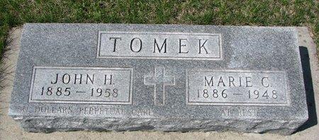"TOMEK, MARIE C. ""MARY"" - Knox County, Nebraska | MARIE C. ""MARY"" TOMEK - Nebraska Gravestone Photos"