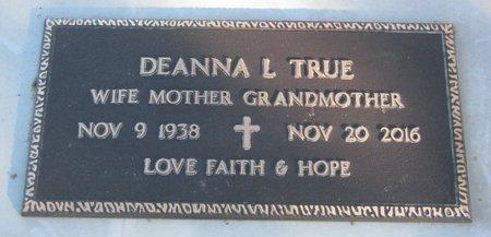 TRUE, DEANNA LOU - Knox County, Nebraska | DEANNA LOU TRUE - Nebraska Gravestone Photos