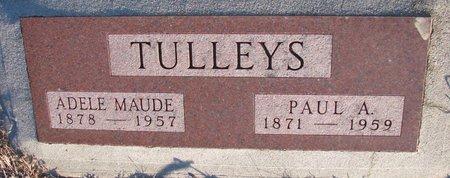 TULLEYS, ADELE MAUDE - Knox County, Nebraska | ADELE MAUDE TULLEYS - Nebraska Gravestone Photos