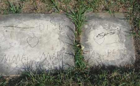 DICKMAN, MARY - Knox County, Nebraska | MARY DICKMAN - Nebraska Gravestone Photos