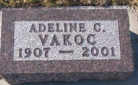 VAKOC, ADELINE C. - Knox County, Nebraska | ADELINE C. VAKOC - Nebraska Gravestone Photos