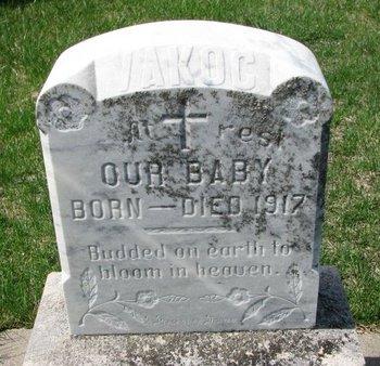 VAKOC, BABY - Knox County, Nebraska | BABY VAKOC - Nebraska Gravestone Photos