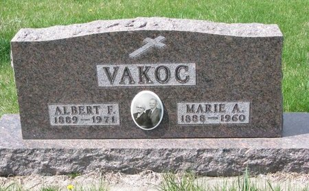 VAKOC, MARIE ANNA - Knox County, Nebraska | MARIE ANNA VAKOC - Nebraska Gravestone Photos