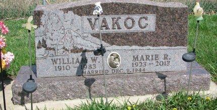 SPURNY VAKOC, MARIE R. - Knox County, Nebraska | MARIE R. SPURNY VAKOC - Nebraska Gravestone Photos