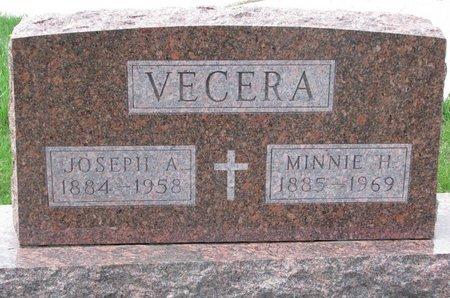 HAVLICEK VECERA, MINNIE H. - Knox County, Nebraska | MINNIE H. HAVLICEK VECERA - Nebraska Gravestone Photos