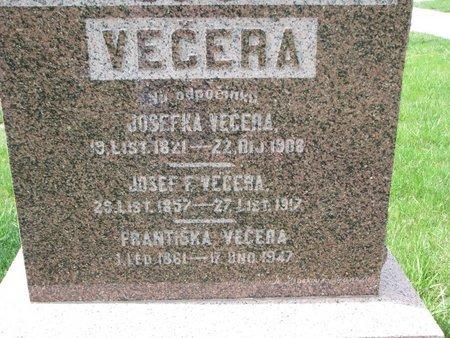 VECERA, JOSEFKA (CLOSE UP) - Knox County, Nebraska | JOSEFKA (CLOSE UP) VECERA - Nebraska Gravestone Photos