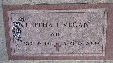 HILFIKER VLCAN, LEITHA I. - Knox County, Nebraska   LEITHA I. HILFIKER VLCAN - Nebraska Gravestone Photos