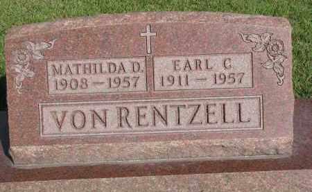VON RENTZELL, EARL C. - Knox County, Nebraska | EARL C. VON RENTZELL - Nebraska Gravestone Photos