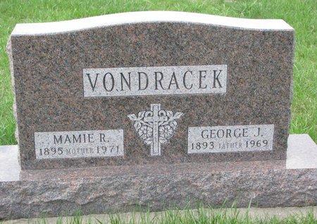 VONDRACEK, MAMIE R. - Knox County, Nebraska | MAMIE R. VONDRACEK - Nebraska Gravestone Photos