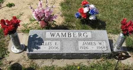 WAMBERG, PHYLLIS E. - Knox County, Nebraska   PHYLLIS E. WAMBERG - Nebraska Gravestone Photos