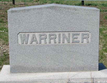 *WARRINER, FAMILY MONUMENT - Knox County, Nebraska | FAMILY MONUMENT *WARRINER - Nebraska Gravestone Photos