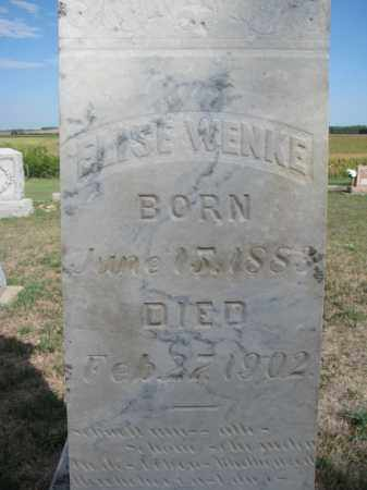 WENKE, ELISE (CLOSEUP) - Knox County, Nebraska | ELISE (CLOSEUP) WENKE - Nebraska Gravestone Photos