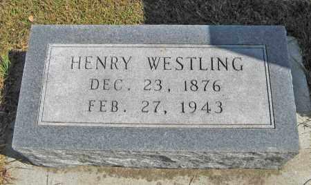 WESTLING, HENRY - Knox County, Nebraska | HENRY WESTLING - Nebraska Gravestone Photos