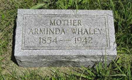 WHALEY, ARMINDA - Knox County, Nebraska | ARMINDA WHALEY - Nebraska Gravestone Photos
