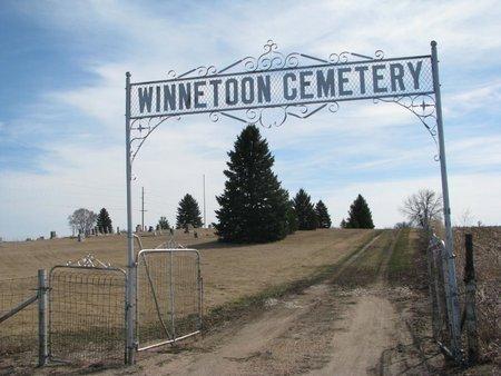 *WINNETOON, ENTRANCE - Knox County, Nebraska   ENTRANCE *WINNETOON - Nebraska Gravestone Photos