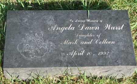 WURST, ANGELA DAWN - Knox County, Nebraska | ANGELA DAWN WURST - Nebraska Gravestone Photos
