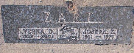 ZART, VERNA D. - Knox County, Nebraska | VERNA D. ZART - Nebraska Gravestone Photos