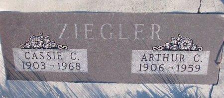 ZIEGLER, ARTHUR C. - Knox County, Nebraska | ARTHUR C. ZIEGLER - Nebraska Gravestone Photos
