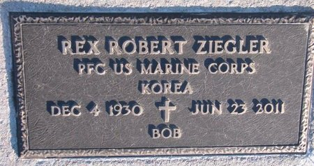 ZIEGLER, REX ROBERT - Knox County, Nebraska | REX ROBERT ZIEGLER - Nebraska Gravestone Photos