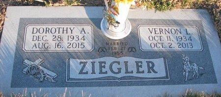 KOOPS ZIEGLER, DOROTHY ANN - Knox County, Nebraska | DOROTHY ANN KOOPS ZIEGLER - Nebraska Gravestone Photos