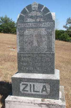 ZILA, ANNA - Knox County, Nebraska   ANNA ZILA - Nebraska Gravestone Photos