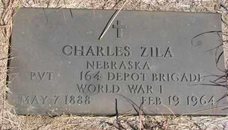 ZILA, CHARLES - Knox County, Nebraska   CHARLES ZILA - Nebraska Gravestone Photos