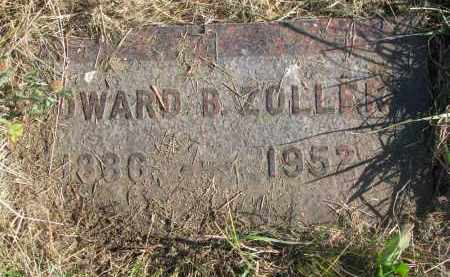 ZOLLAR, EDWARD B. - Knox County, Nebraska   EDWARD B. ZOLLAR - Nebraska Gravestone Photos