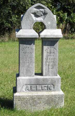 ALLEN, BENJAMIN - Lancaster County, Nebraska | BENJAMIN ALLEN - Nebraska Gravestone Photos
