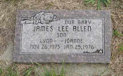 ALLEN, JAMES LEE - Lancaster County, Nebraska   JAMES LEE ALLEN - Nebraska Gravestone Photos