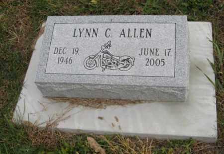 ALLEN, LYNN C. - Lancaster County, Nebraska | LYNN C. ALLEN - Nebraska Gravestone Photos