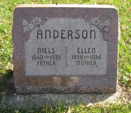 ANDERSON, NIELS - Lancaster County, Nebraska | NIELS ANDERSON - Nebraska Gravestone Photos