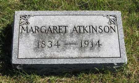 ATKINSON, MARGARET - Lancaster County, Nebraska | MARGARET ATKINSON - Nebraska Gravestone Photos