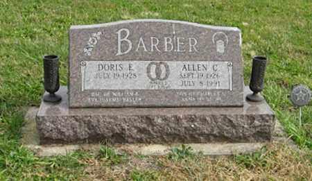 BARBER, DORIS E. - Lancaster County, Nebraska | DORIS E. BARBER - Nebraska Gravestone Photos