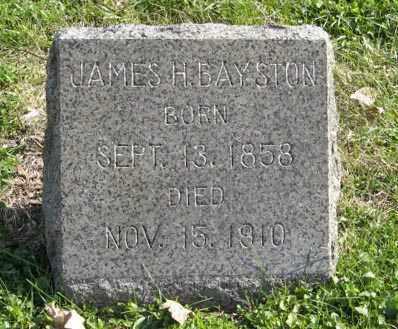BAYSTON, JAMES H. - Lancaster County, Nebraska   JAMES H. BAYSTON - Nebraska Gravestone Photos