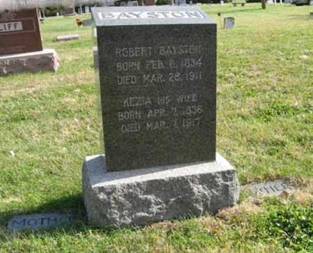 BAYSTON, ROBERT - Lancaster County, Nebraska | ROBERT BAYSTON - Nebraska Gravestone Photos
