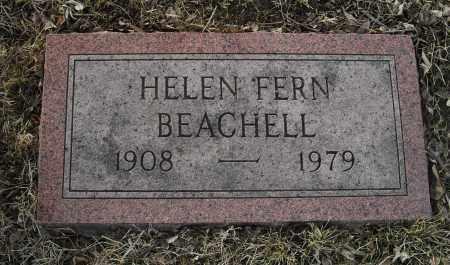 BEACHELL, HELEN FERN - Lancaster County, Nebraska | HELEN FERN BEACHELL - Nebraska Gravestone Photos